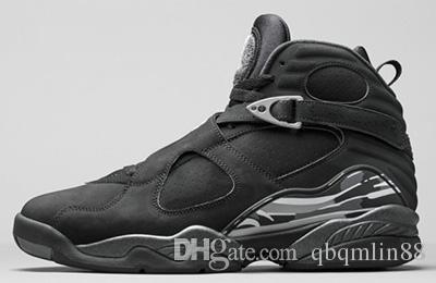 Chaussures de basket-ball 8 VIII hommes basket-ball chaussures aqua chrome playoffs troispeat vrai rouge Varsity rouge 8 repilcas chaussures de sport sneakers