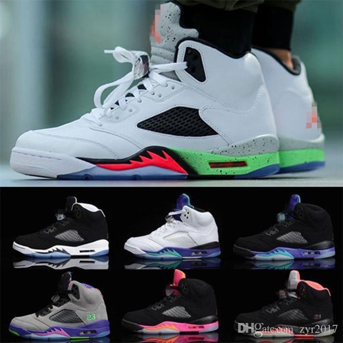 13d944830860 Aj Sports Shoes Aj5 Kite AJ5 Neymar Women S Shoes AJ5 White Cement Silver  Venom Oreo Casual Shoes Mens Boat Shoes Boat Shoes For Men From Zyr2017