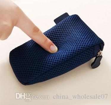 Storage Bag Pouch sleeve for Macbook Laptop Adapt Mouse Case Travel Data Cable Charger Bag Power Pack