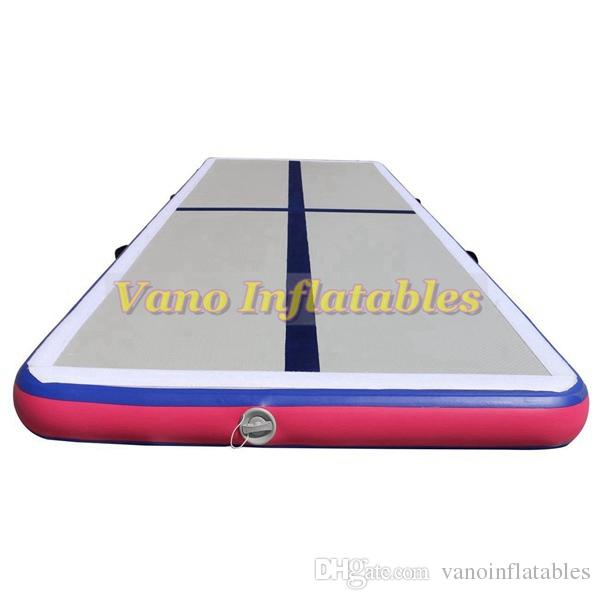 Tumbling Gym Mat 6x1x0 2m Air Tacks for Gymnastics for Cheerleading, Yoga,  Home Training with Pump Free Shipping