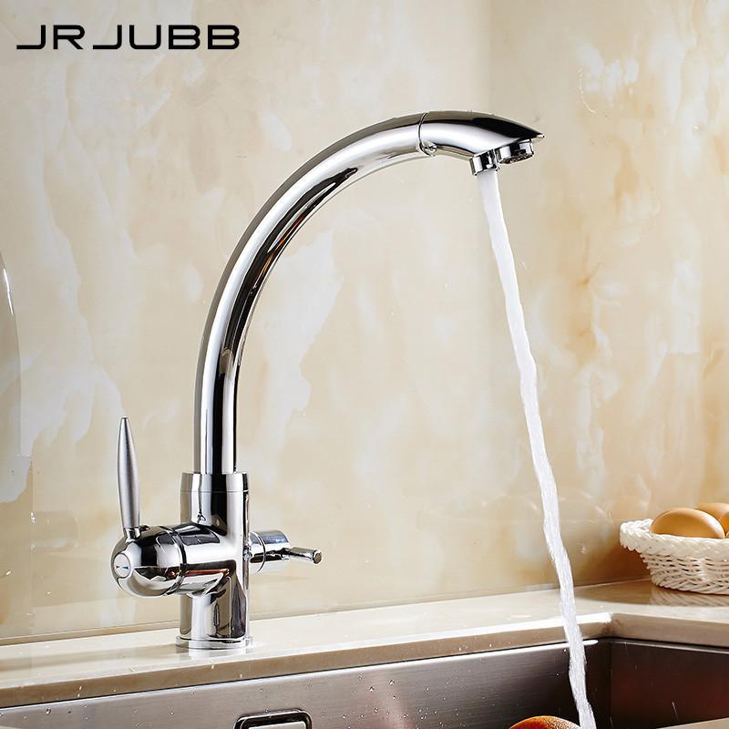 Three Way Sink Mixer 3 Way Water Filter Tap Chromed Brass 3 Way ...