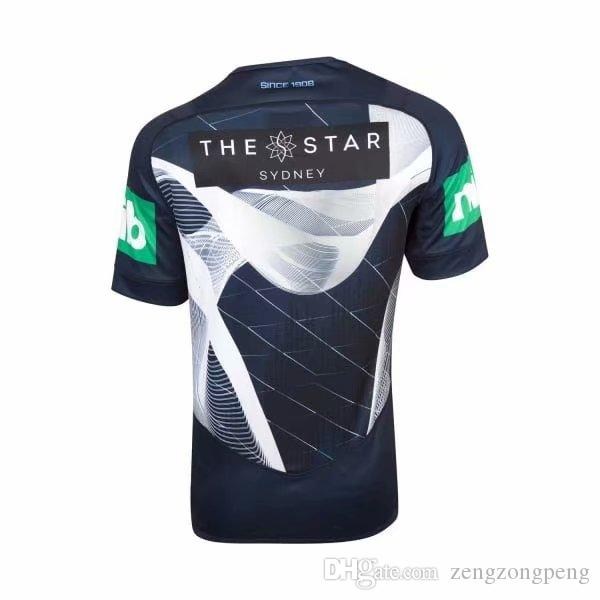 NSW STATE OF ORIGIN 2018 ELITE TRAINING TEE LIGHT BLUE NRL National Rugby League Holden Blues Queensland Maroons Rugby jersey size S-XXXL