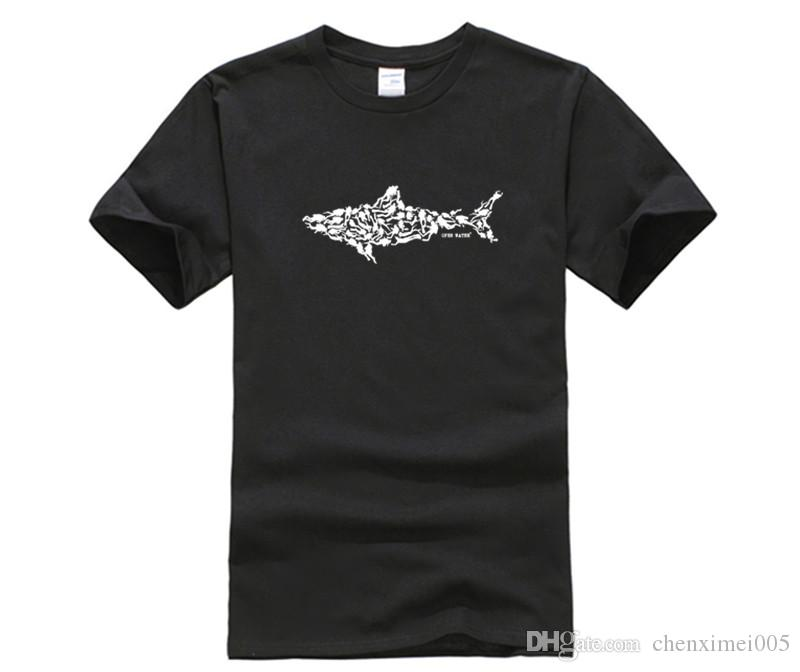 DIY Print T Shirt Shark Scuba Diver Tee Divinger Dive Funny Birthday Gift Present For Him Adult Mens Dress Patriotic Shirts From