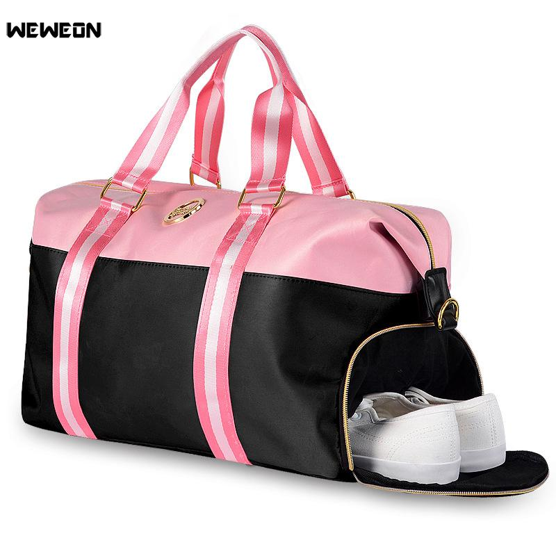 7b0ec3bda1a9 2019 Women Gym Bags For Training Bag Men Fitness Travel Sac De Sport  Outdoor Sports Bag With Shoes Stroage Packet Gymtas Yoga Bolsa From Youtuo
