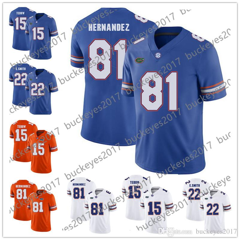 747bf843b Florida Gators  81 Aaron Hernandez 51 Brandon Spikes 74 Youngblood ...