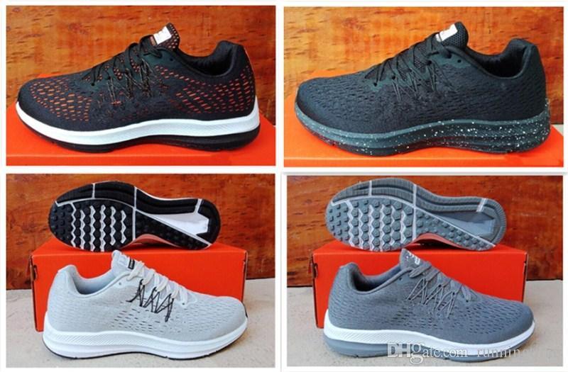 big sale db67c 401a7 Acheter Nouveau Style Zoom Winflo 5 Chaussures De Course Hommes W5 Baskets  De Marche En Plein Air Chaussures D entraînement Taille 40 45 De  58.06 Du  ...