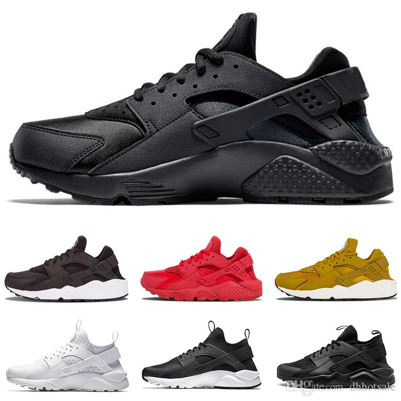 97878252ef89 New Huarache 1.0 4.0 Running Shoes For Men   Women Ultra Triple ...
