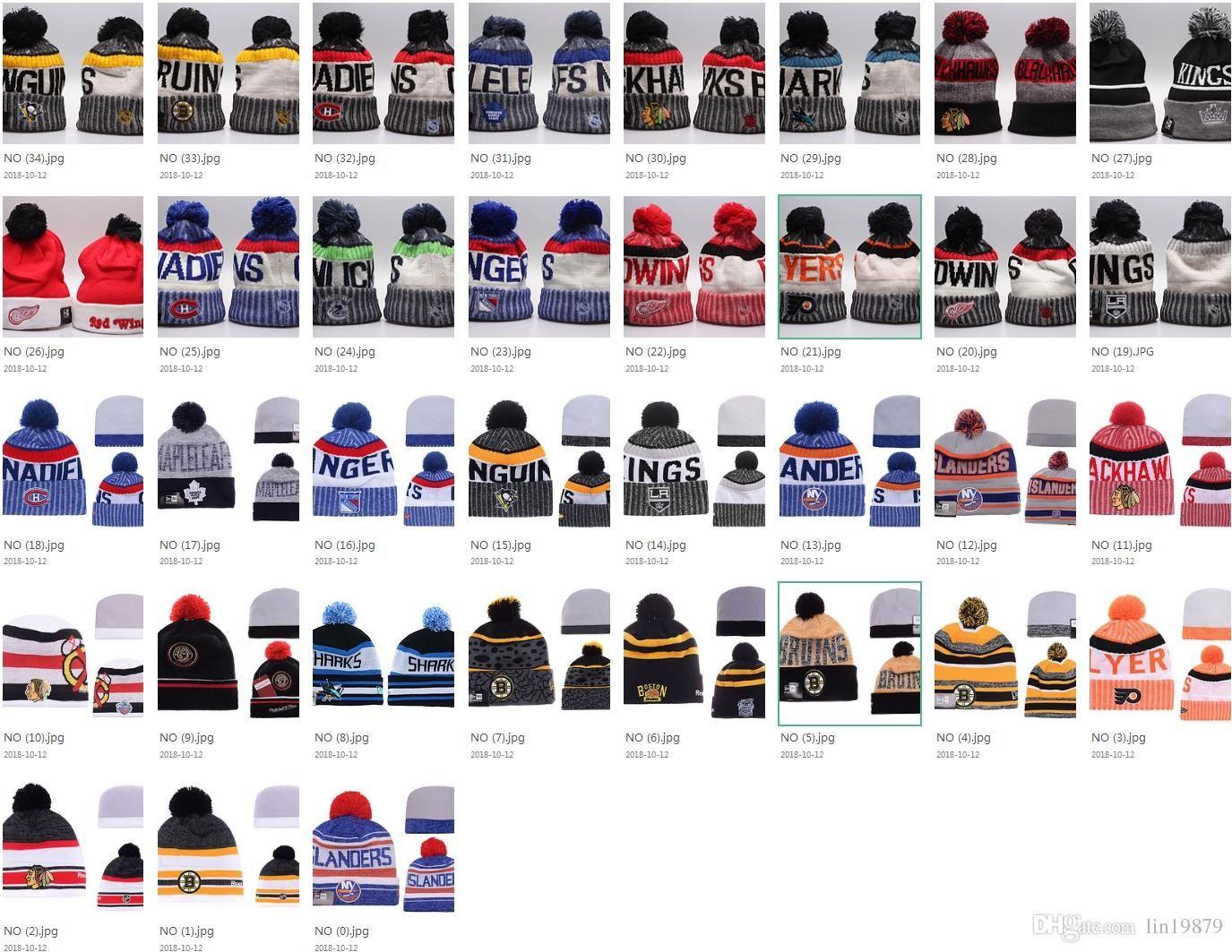 35 Styles NHL Maple Leafs Women Winter Knitted Wool Blackhawks Penguins  Flyers Sharks Beanies Unisex Casual Caps Men HipHop Beanie Warm Hats  Baseball Caps ... feff202ff