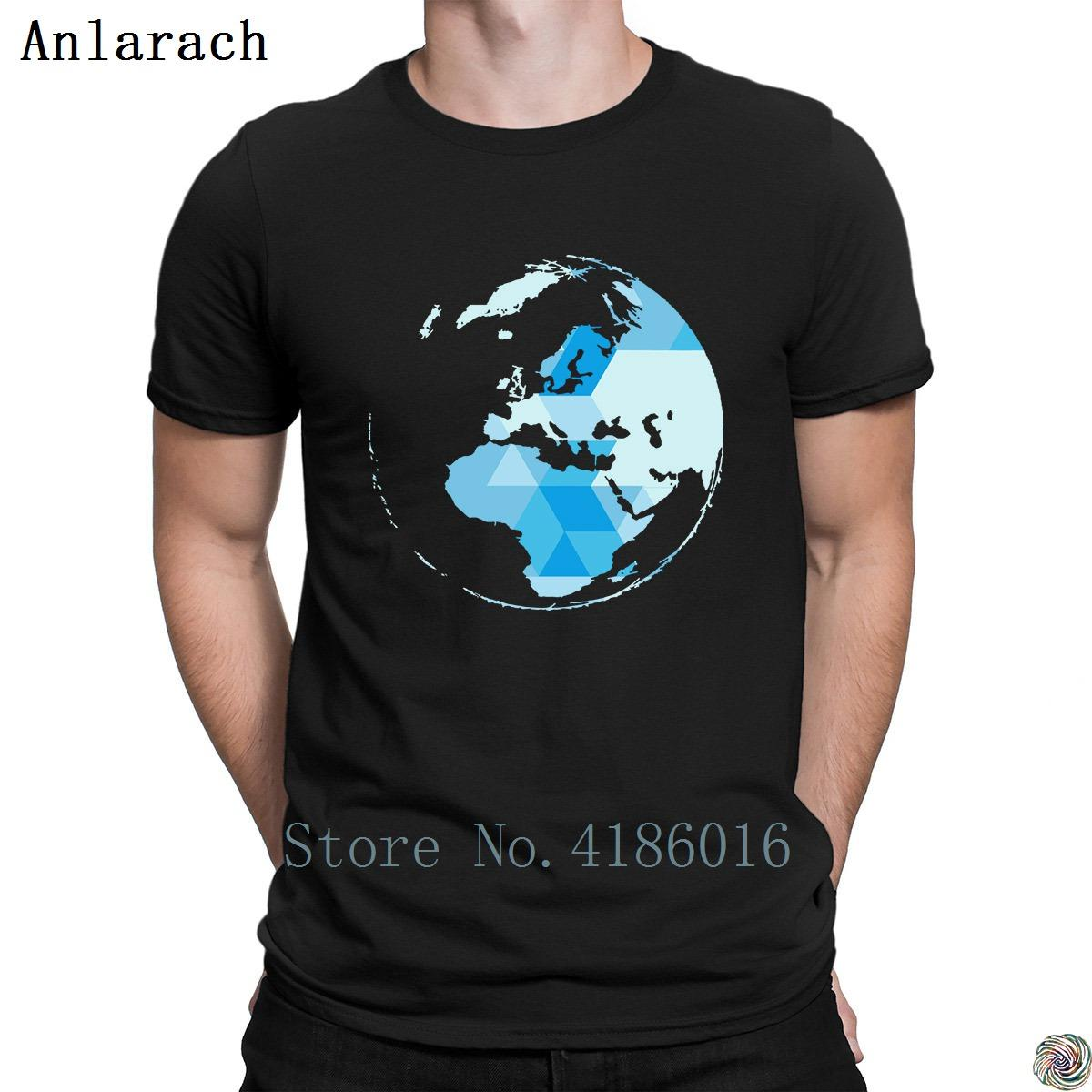 58f053fcd Geometric World Map Blue Triangle T Shirts Tee Top Pattern Summer Style  Latest Men S Tshirt Plus Size Creature Trendy Anlarach Buy T Shirt Design  Buy Tee ...