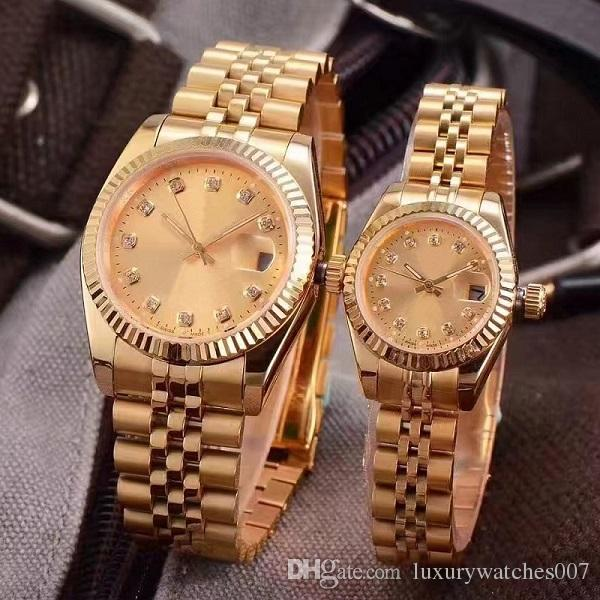 2019 New LUXURY WATCH Couples Style Classic Automatic Movement Mechanical Fashion Men Mens Women Womens Watch Watches Wristwatch