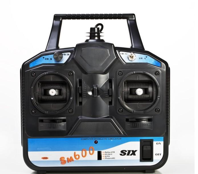 RC SM600 simulator started 6 -channel flight simulator G4/G3 5 / Phoenix  2 5/XTR5 0