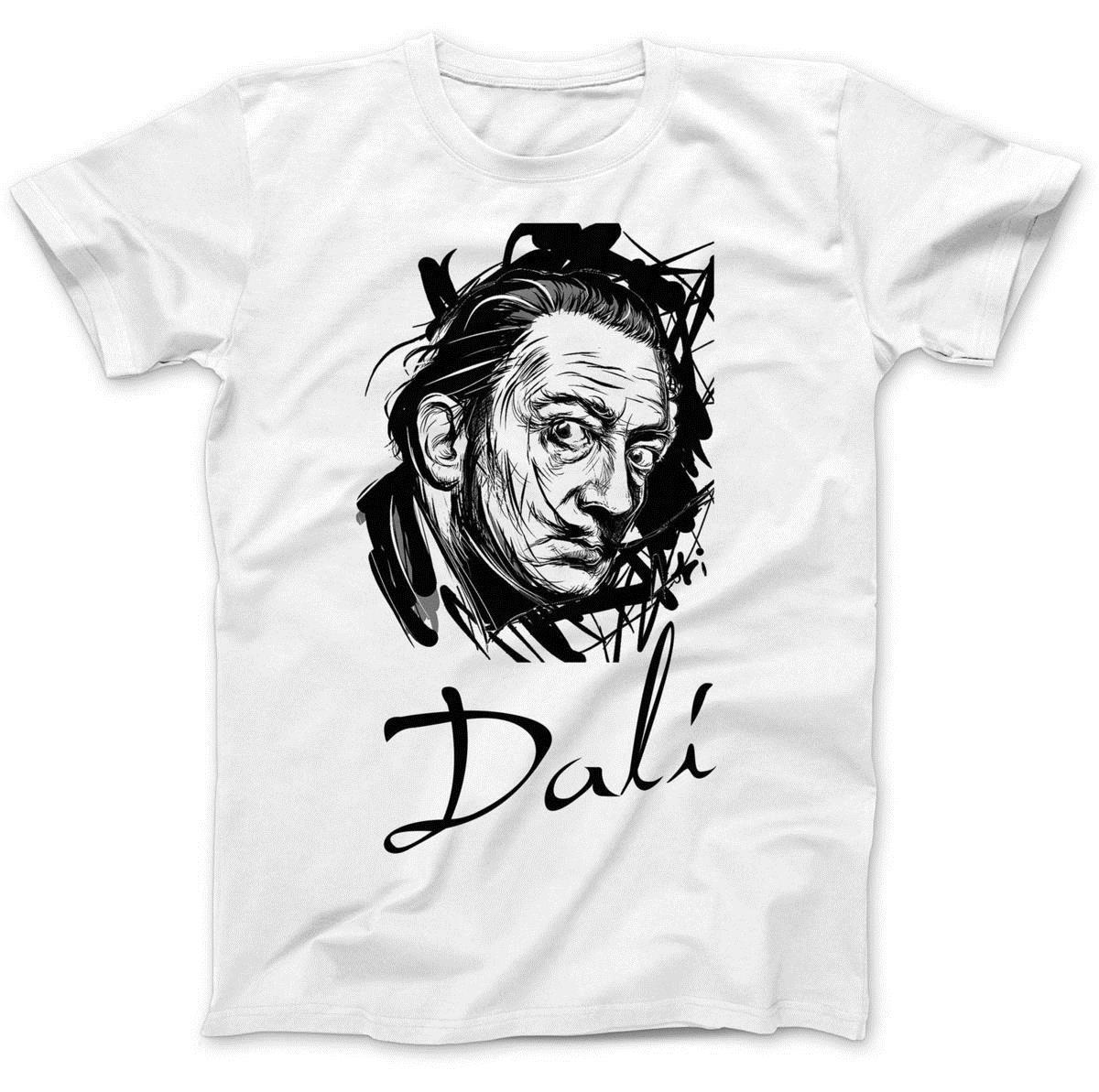 Compre Camiseta Tributo Salvador Dali 100% Algodón Premium Surrealismo Los  Elefantes A  11.21 Del Amesion36  263333288ef9e