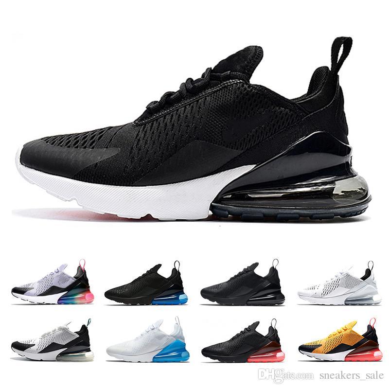 huge selection of be5ca c8324 270 Black White Photo Blue Light Bone Triple Black mens Running Shoes Women  270s Triple Black tiger Teal white volt Betrue sports sneakers