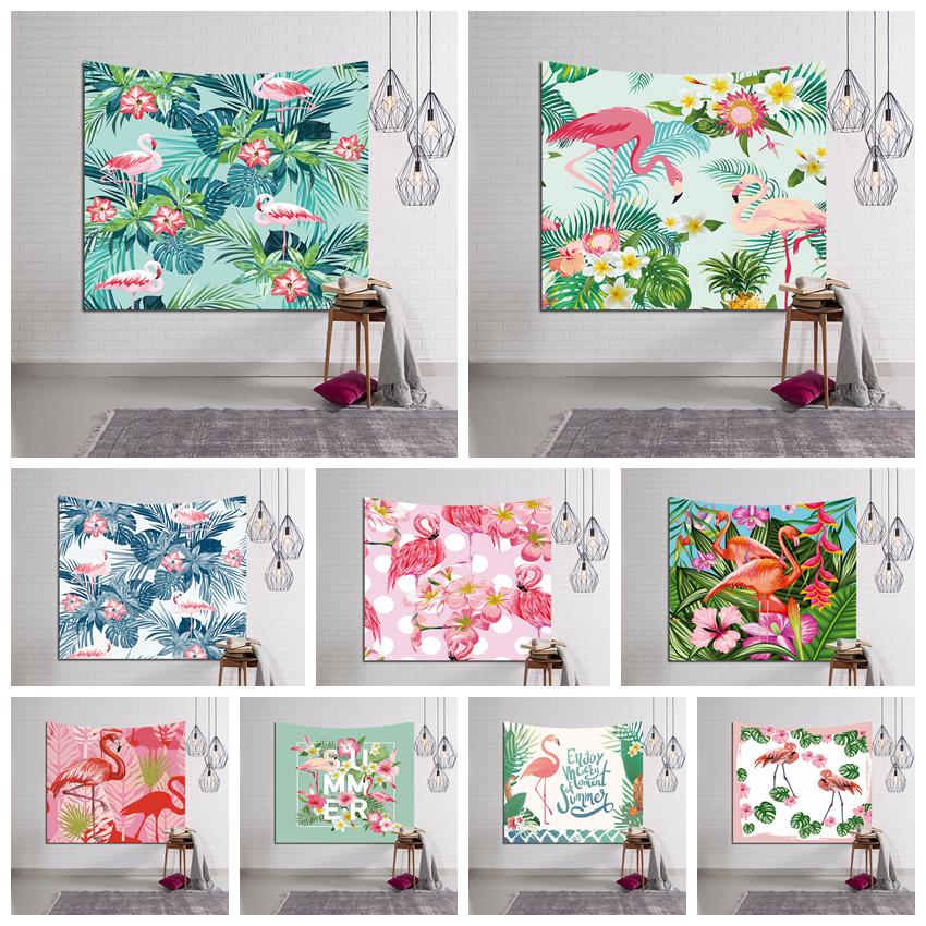 150 130cm 29 Styles Flamingo Tapestry Wall Hanging Beach Picnic