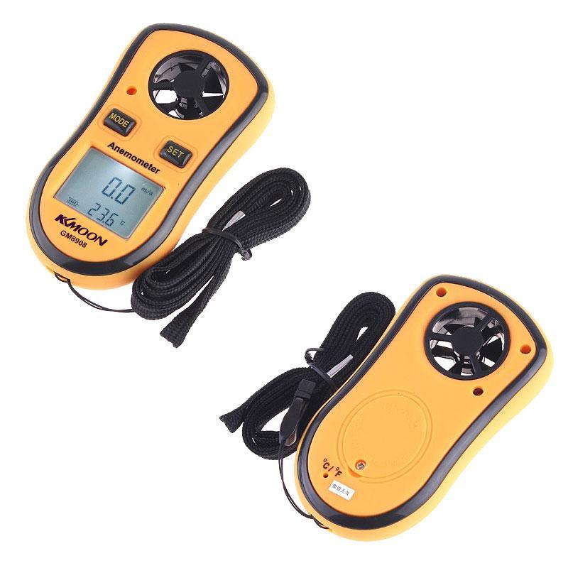 Freeshiping 고품질 디지털 풍속계 디지털 풍속계와 고정밀 압력 센서 LED 풍속 측정 계측기