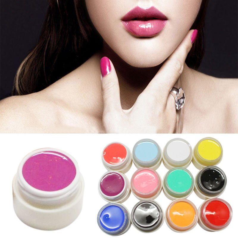 Hot New Nail Art Design Color Uv Soak Off Paint Color Gel Ink Uv Gel