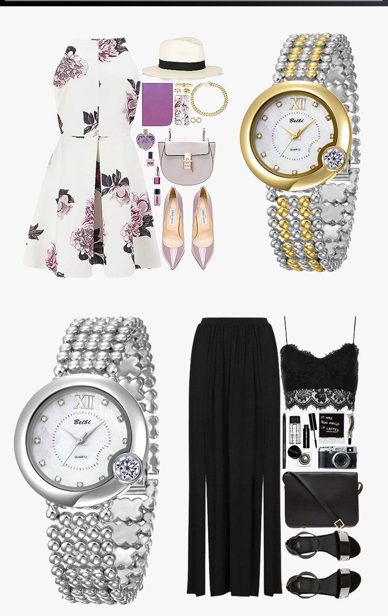 BELBI Luxury Women Watches Exquisite Big Diamond Dial Alloy Female Quartz Wristwatches Top Quality waterproof Women China Brand ladies fash