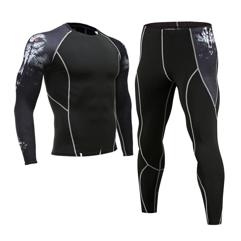924b3d1c1a92b 2019 Men'S Thermal Underwear Suit MMA Clothing Tactical Base Layer Rashgard  Kit Compression Clothing Brands Long Sleeve Tights From Wqasysos, ...
