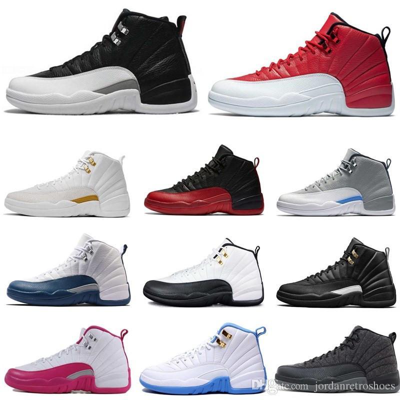 7a59bcd7dc1e High Quality Basketball Shoes 12 12s OVO White Gym Red Dark Grey Men ...