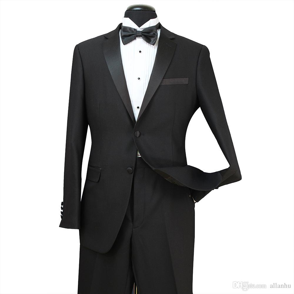 e5b29cad43fe5 Compre 2018 Blanco Negro Barato Trajes Hombres De Lujo Blazers Trajes De  Boda Para Hombres Trajes Ajustados Trajes De La Etapa Kostum Blazers ST007  A ...