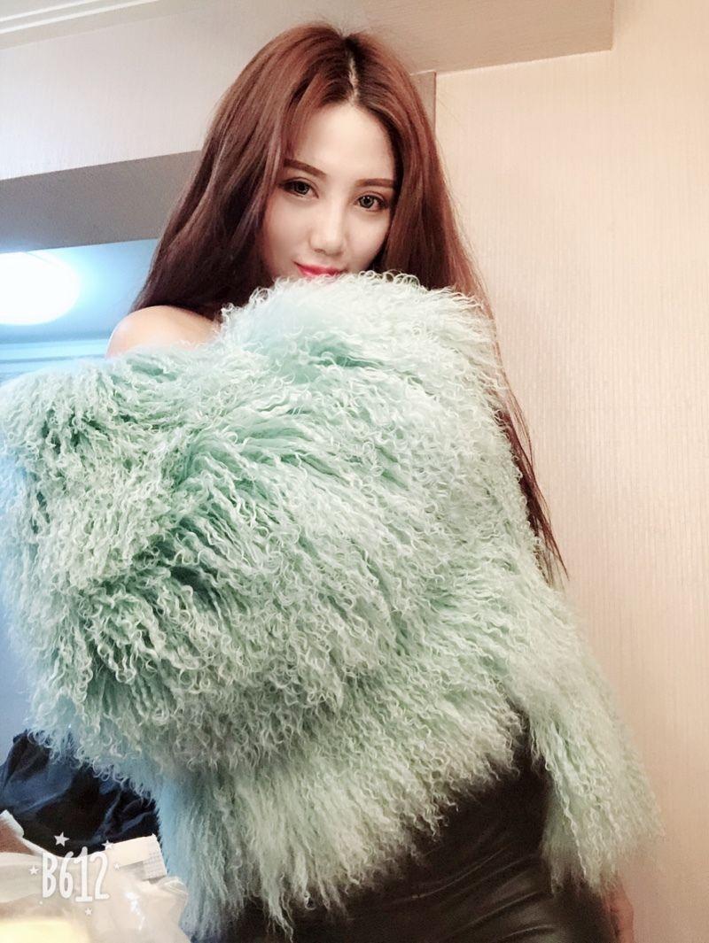 New Brand Real Mongolia Sheep Fur Coat 9a0ab0601