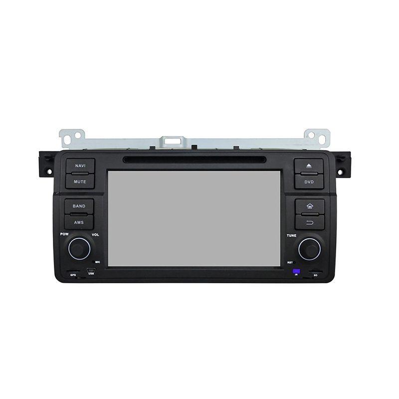 Reproductor de DVD del coche para BMW E46 M3 7 pulgadas Andriod 8.0 4GB RAM con GPS, control del volante, Bluetooth, radio