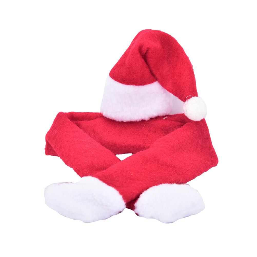 Großhandel 2 Teile / Satz Weihnachten Weinflasche Abdeckung Hut ...