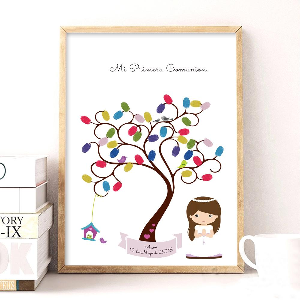 Gift Gifts Personalized Name Date Gift For My First Holy Communion