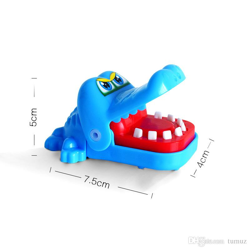 Morditi i giocattoli a mano, squali, cani, ippopotami, coccodrilli, strano nuovo giocattolo, giocattoli bambini