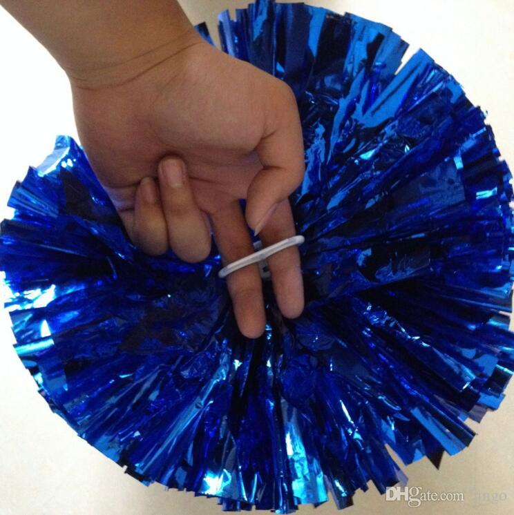 Pom Poms Cheerleading Cheering Hand Flowers Ball Pompom Christmas Wedding Party Festival Dance Props Cheer Leading nf