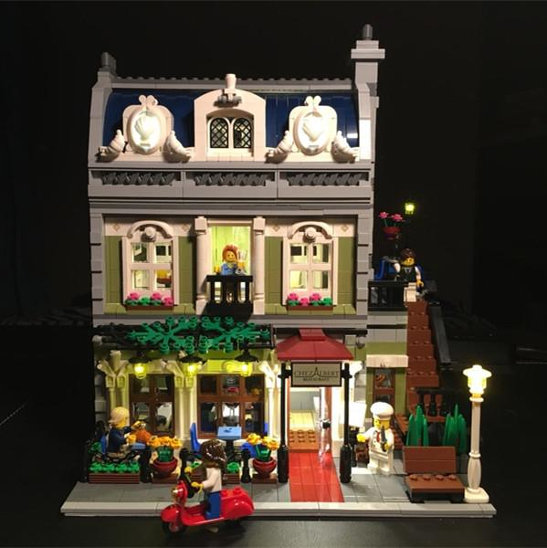 LED Light Up Kit For Lego and Lepin Creator Expert Parisian Restaurant  Building Compatible With 10243 And 15010