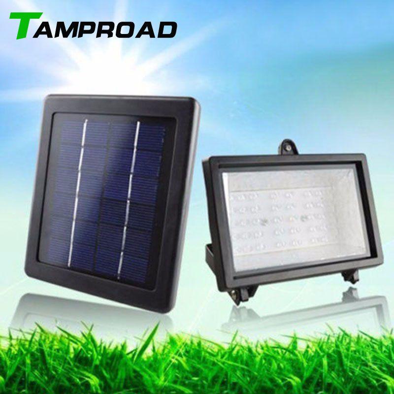 TAMPROAD Solar Panel Lighting Kit Solar Home System 45 LED Outdoor Wireless  Energy Powered Dark Sensor Light Ponds Lamp