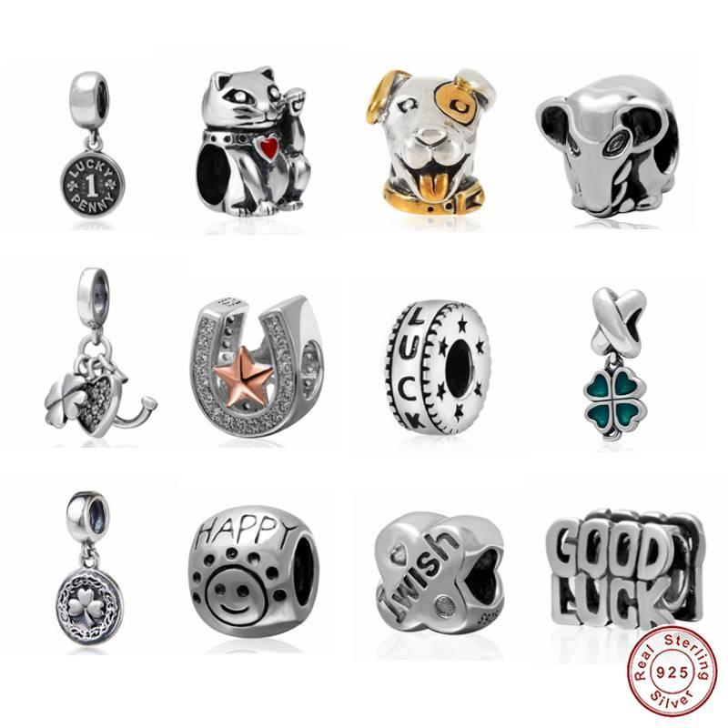 e3f60d47f Haha Jewelry Lucky Series Dog Charm Happy Beads Authentic 925 ...