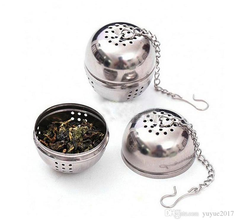 Heiße echte Edelstahl Utility Aroma Bälle / Filterbeutel / Teebälle / Küchenhelfer / Siebe Siebe Teesieb Ball