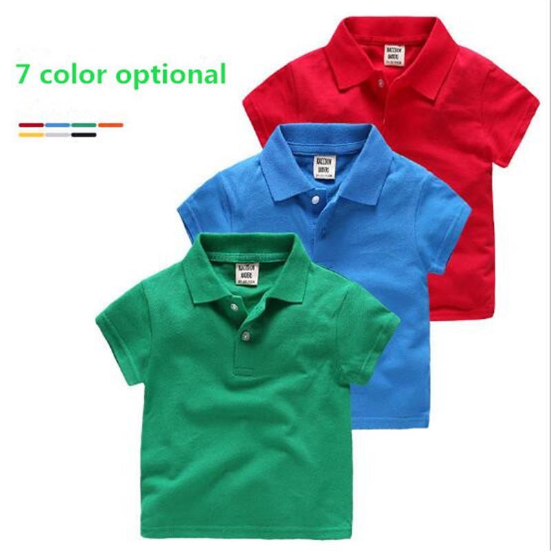 Home Baby Jungen Poloshirt Kinderkleidung Sommer Kleidung Baby Kinder Kind Marke 100% Baumwolle Kurze Polo Hemd Hohe Qualität