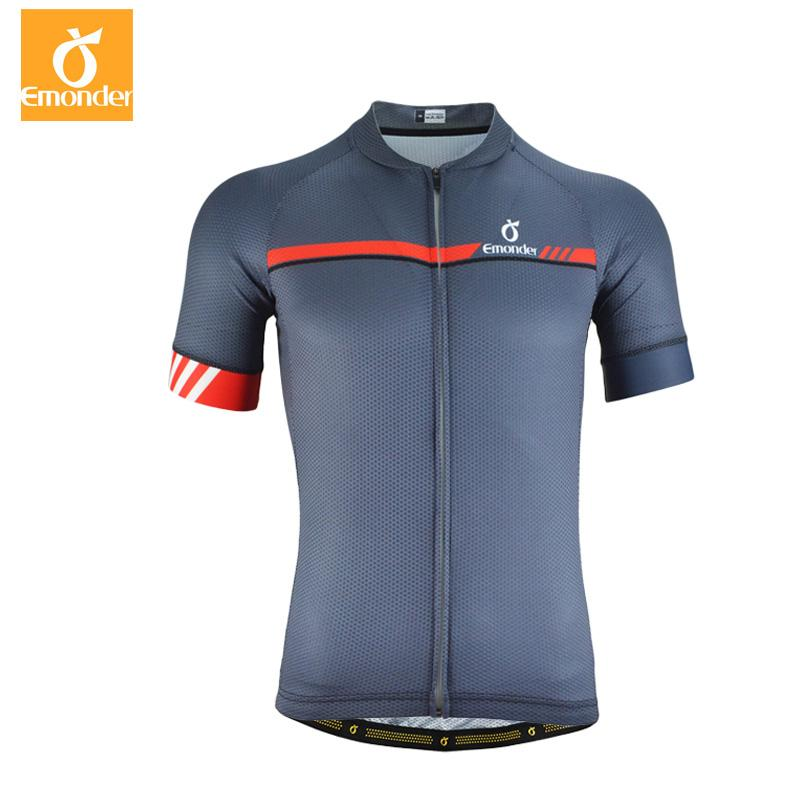 bcde2babe EMONDER Hot Summer Cycling Jersey Short Sleeve Pro Team Men Summer MTB Road Bike  Jersey Breathable Cozy Bicycle Clothing Cycling Jacket Waterproof Cycling  ...