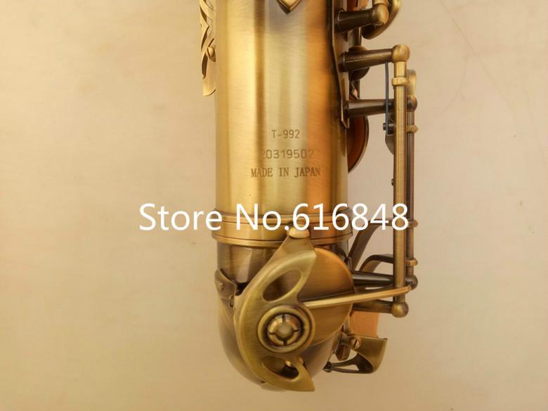 2018 nuovo arrivo strumento musicale YANAGISAWA T-992 tenore sassofono tubo di ottone antico superficie di rame bb tono sassofono con bocchino