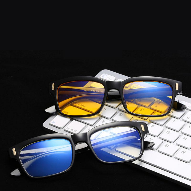 e647cb8fbe60 Anti Blue Light Glasses Frame Blocking Filter Reduces Digital Eye Strain  Clear Regular Computer Gaming Glasses Improve Comfort Anti Blue Light  Glasses ...