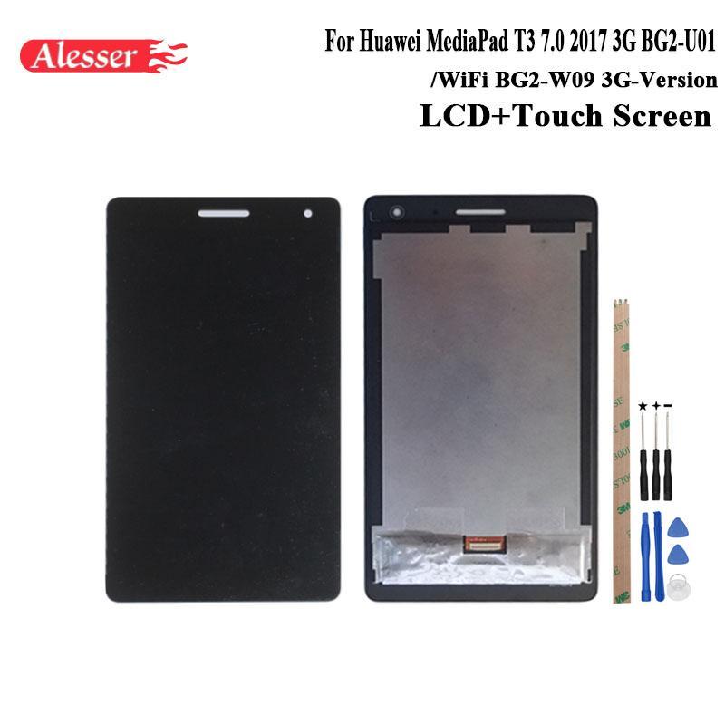 2019 Alesser For Huawei Mediapad T3 70 2017 3g Bg2 U01 Lcd Display