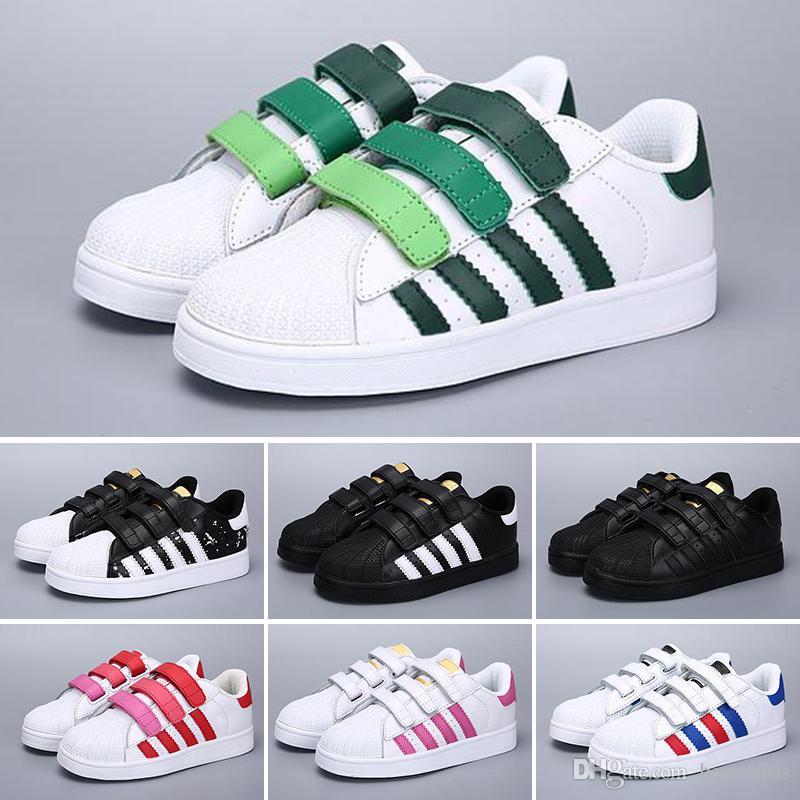 Original Adidas Blanc Bébé Or Filles Originaux Enfants Marque Super 5c3qARL4j