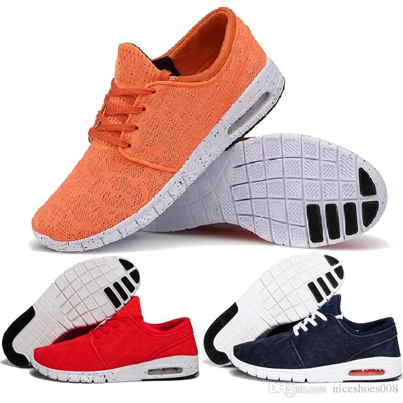 wholesale dealer 8aa88 1e4fb Scarpe Sportive Uomo Vendita Calda 2018 Nuovo Design Nike SB Scarpe Stefan  Janoski Donne E Uomini Scarpe Casual Da Esterno Scarpe Da Ginnastica Taglia  36 45 ...