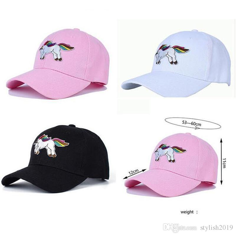 Fashion Simple Unicorn Baseball Cap Ms. Cute Snapback Hat Adjustable  Embroidery Fashion Casual Hip Hop Sun Hat Hat Stores Custom Trucker Hats  From ... b9dc81e4407e