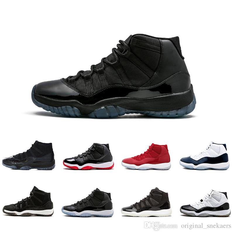 a677a83d226d48 Prom Night Gym Red 11 XI Space Jam Bred Gamma Blue Basketball Shoes Men  Women 11s Concords 72 10 Legend Blue Cool Grey Sneakers Basketball Gear  Basketball ...