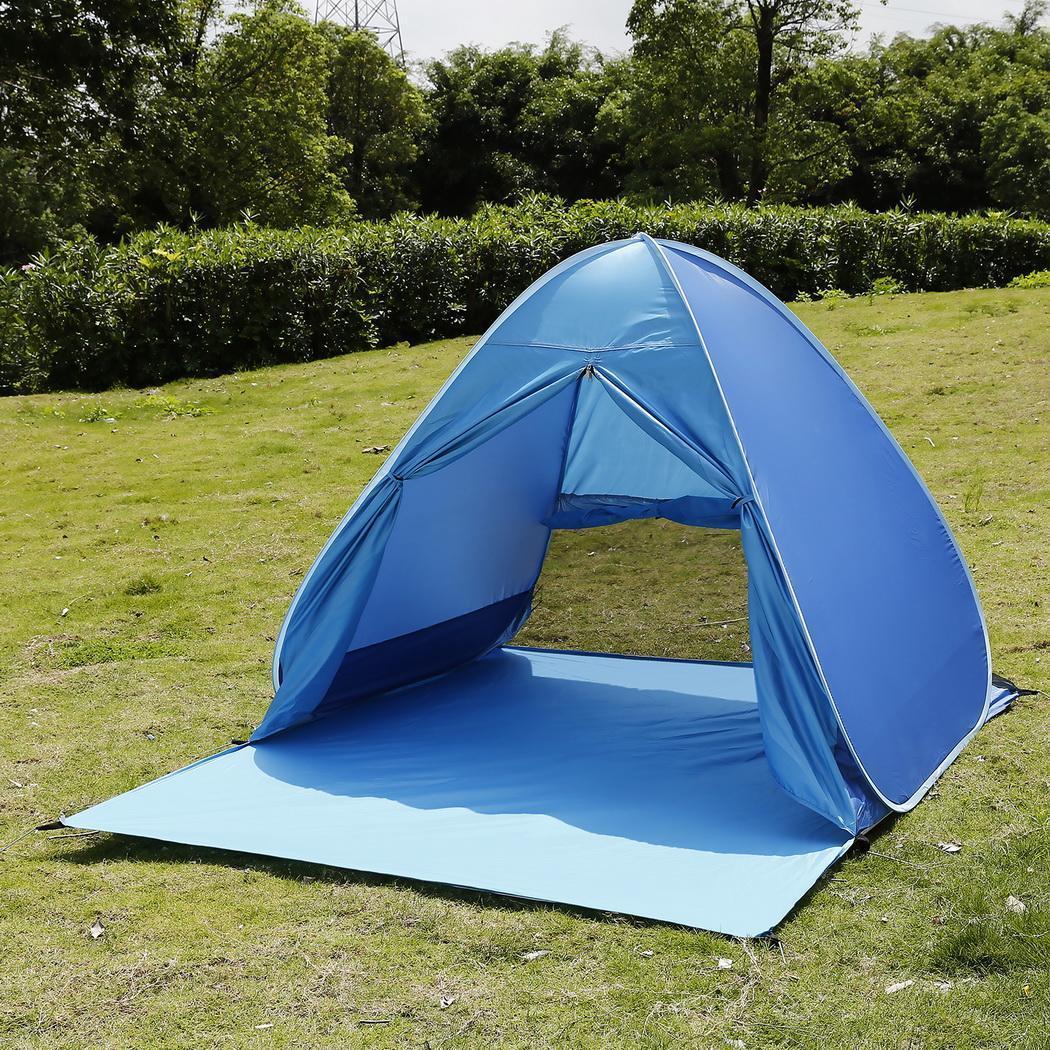 Großhandel Neue 190t Polyester Pop Up Zelt 90 Uv Schutz Sun Shelter