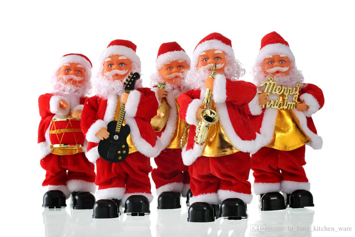 Christmas Toys For Boys : Christmas toy desktop decorations cute santa claus style can