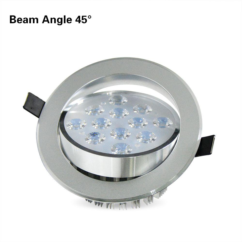 Real Full Watt Recessed lampada LED Panel Downlight 3w 5w 7w 9w 12w 15w 18w LED Ceiling Lamp AC 110V 220V LED Light bulb