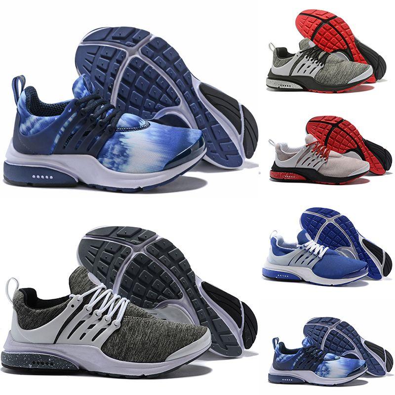 big sale ee672 289df Compre Nike Air Presto Ultra Low QS Hombres Zapatillas De Deporte Para Mujer  Tripel Negro Blanco Rojo Zapatillas De Deporte Para Hombre Entrenador ...