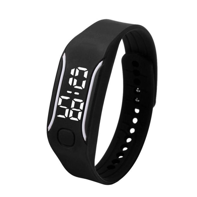 89cad00531bf Compre Silicona LED Relojes Deportivos Digitales Caucho Correr Reloj Fecha  Hora Hombres Mujeres Unisex Pulsera Relojes De Pulsera Precio Barato E2 A   34.45 ...