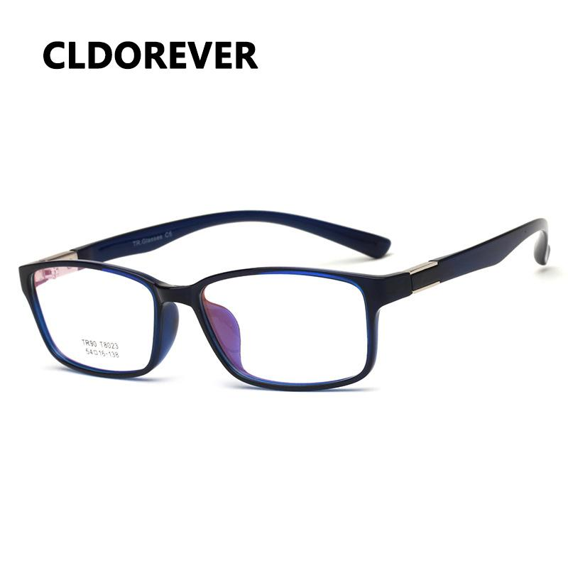 5d59ab8b9f8 Hot 2018 TR90 Ultralight Optical Glasses Frame Vintage Square ...