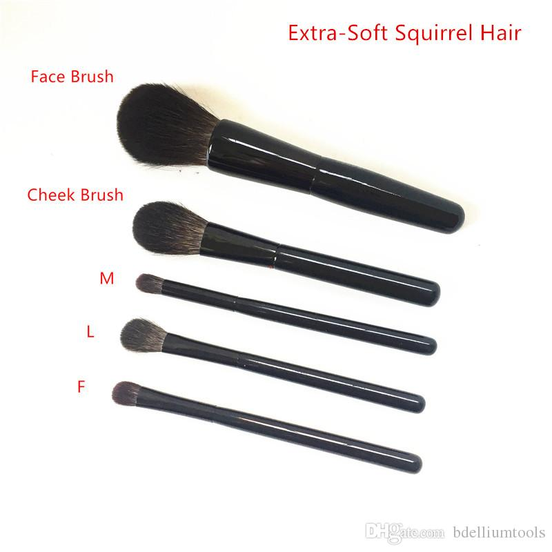 SUQQU Face Cheek EYESHADOW Brsuh L/M/F - 100% Squirrel Hair Eyeshadow Powder Blush Blending Beauty Makeup Brush Blender Tools